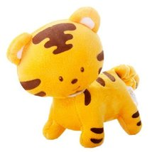 Little Tiger Cute Baby Stuffed Animals Infant Toys Toddler Shaking Plush Toys