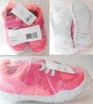 Girls Toddlers Walker Shoes 10 Carters Athletic Pink Orange Baby Toddler Shoes - $21.95