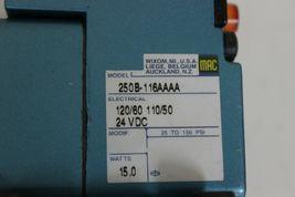 MAC 57C-12-116AA Solenoid Valve 120/110VAC 24VDC 3/4IN NPT Ports  image 3