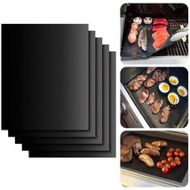 Grill Mats 2Pcs Barbecue Sheet Reusable Oven Liner Grilling Copper Nonst... - €8,49 EUR+