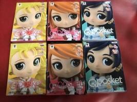 Futari Wa Pretty Cure Precure Max Heart Qposket petit Figure Doll 6 Body... - $199.99