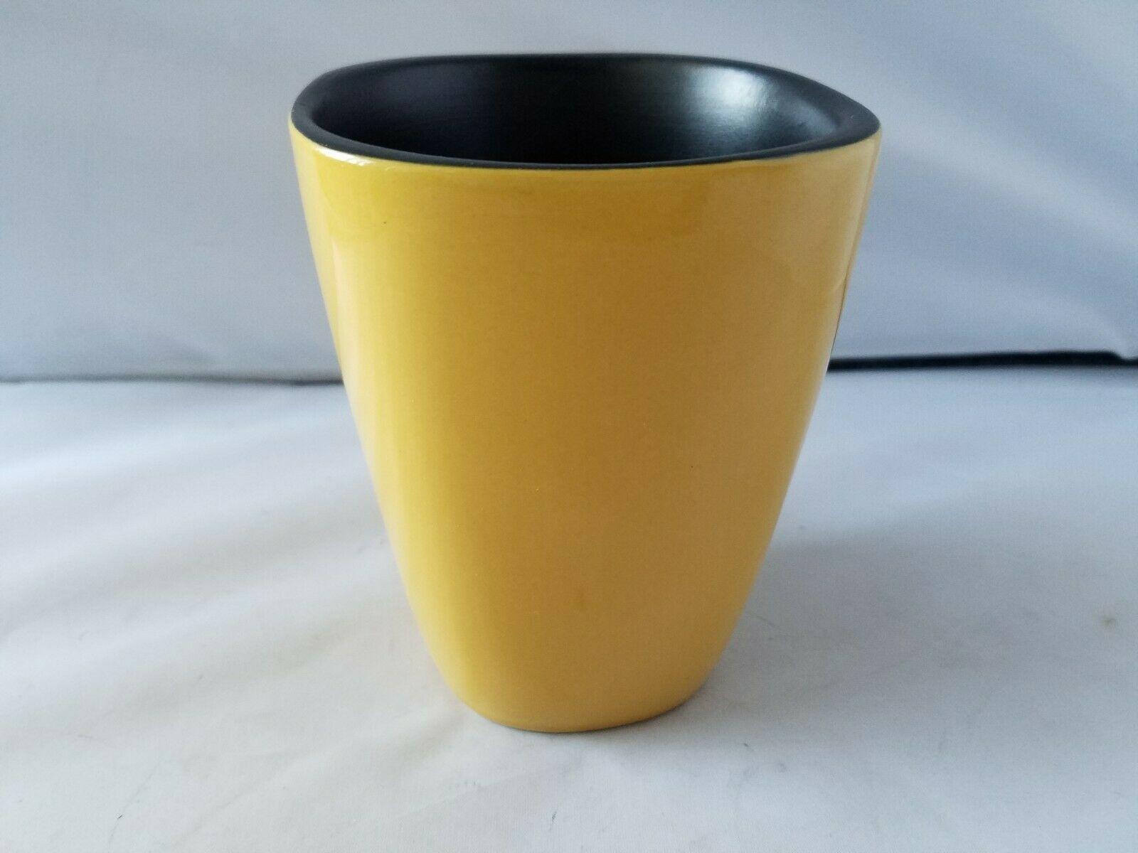 Corelle Hearthstone Vintage Tazas de Café Porcelana Cúrcuma Amarillo Set Of 5