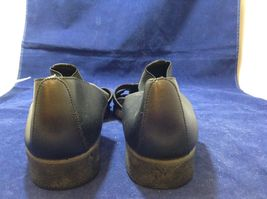 Easy Street Black Leather Comfortable Slip-on Shoes Sz 10M image 4