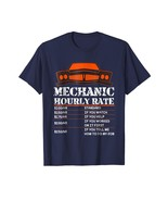 Brother Shirts - Mechanic Hourly Rate Funny Gift T-Shirt For Men Labor R... - $19.95+