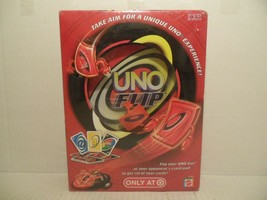 NEW Mattel UNO FLIP Family Card Game N7857 Kids Adults Players Target GUY 2009 - $46.42