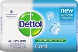 2x Dettol Cool Soap Everyday Protection For Unseen Germ 75 gm - $9.42
