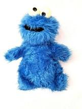"""Vtg 1981 Knickerbocker Muppets Sesame Street 12"""" Plush Cookie Monster Ra... - $27.80"""