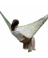Garden Hammock Swing Chair Hanging Mesh Net Seat Porch Bed Outdoor Portable - $35.89