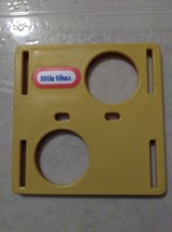 "Original Vintage Little Tikes Dollhouse Cube Yellow Side with ""Little Ti... - $7.43"