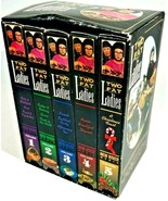 Two Fat Ladies 5 VHS Box Set 12 Shows & Christmas BBC Cooking Show 210238 - $24.74