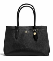 Coach  Nuevo Grande Cuero Negro Bailey Carry All Bolsa Shoulder-Hand-Bag... - $141.65