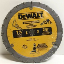 "(New) Dewalt Construction 7-1/4"" 24T Framing Circular Saw Blades Lot of 10 - $80.18"