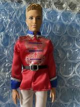 Barbie Ken Prince Eric Doll Prince The Nutcracker 2012 - $14.99