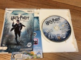 HARRY POTTER & The Deathly Hallows Part I (Nintendo Wii, 2010) Adult owned LNC - $13.95
