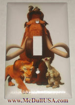 Ice Age Light Switch Duplex Outlet & more wall cover plate Home decor