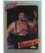 2008 Topps WWE Heritage Chrome III Refractors #43 Big Daddy V  - $5.00