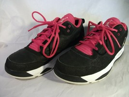 Boys Nike GS Youth Retro Black/Magenta/White Athletic Shoes 487605-009 S... - $19.39