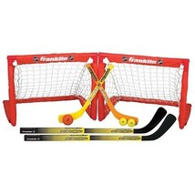 Franklin Sports 14213 Kids NHL Indoor Hockey Sport Game Toy 2-in-1 Set NEW - $43.95