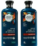 2 Count Herbal Essences Bio Renew Repair  Moroccan Argon Oil Shampoo 13.... - $29.99
