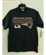 NFL Patriots Super Bowl LII Fans Apparel navy SZ L - $18.99