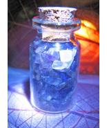 Haunted ALIGN YOUR OWN MAGICKALS SEALING AMETHYST CRYSTALS MAGICK VIAL C... - $35.00