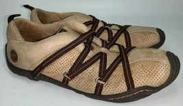 Jambu J-41 Anchorage Shoes Brown Leather Strappy Hiking Comfort Womens Sz 6.5 M - $24.75