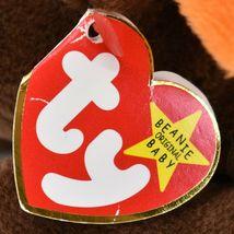 1993 TY Beanie Baby Original Chocolate the Moose PVC Beanbag Plus Toy Doll image 6