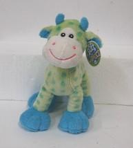 Soft Classics Cow Light Blue Green Polka Dots Ages 0 Plus image 1