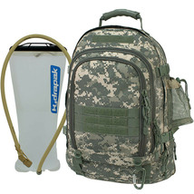 Mercury Tactical Gear Tac Pac with Bladder ACU Army Camouflage Backpack - $78.80 CAD
