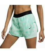 """Nike Air Womens 2-in-1 Aqua Lined Running Shorts Size XLarge 3"""" - $28.04"""