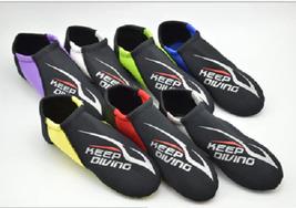 1 Pair 2mm Scuba Diving Shoes Non Slip Snorkeling Submersible Supplies S... - $14.09