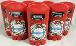 Old Spice Wolfthorn Scent Men's Anti-perspirant & Deodorant 2.6oz Lot of 8 New - $59.35