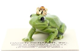 Hagen-Renaker Miniature Ceramic Frog Figurine Birthstone Prince 11 November - $9.96