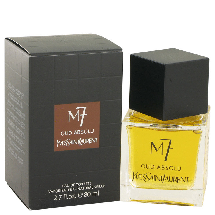Yves Saint Laurent M7 Oud Absolu Cologne 2.7 Oz Eau De Toilette Spray