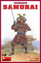 Miniart Models - 16028 - Samurai Japanese Warrior - 1/16 - $23.99