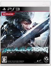 PS3 METAL GEAR RISING REVENGEANCE Japan Import Sony Japanese Pla From japan - $68.84