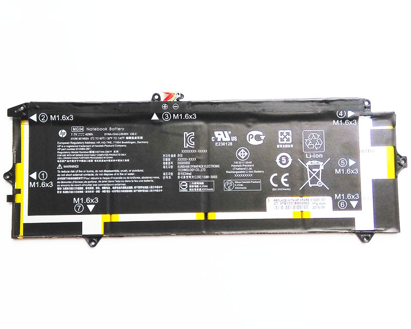Primary image for MG04 HP Elite X2 1012 G1 L5H03ET V8J36US W6H21US X7A93PP Y9E90US Battery