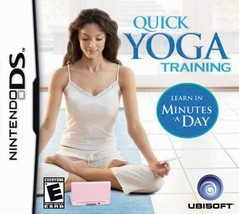 Quick Yoga Training (Nintendo DS, 2008) - $5.23