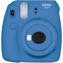Fujifilm 16550667 instax mini 9 Instant Camera (Cobalt Blue) - $82.22