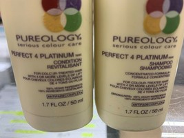 Pureology Perfect 4 Platinum Shampoo & Conditioner 1.7 oz. Duo Travel - $39.59