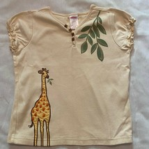 Gymboree Vintage Embroidered Giraffe Shirt 5 - $9.60