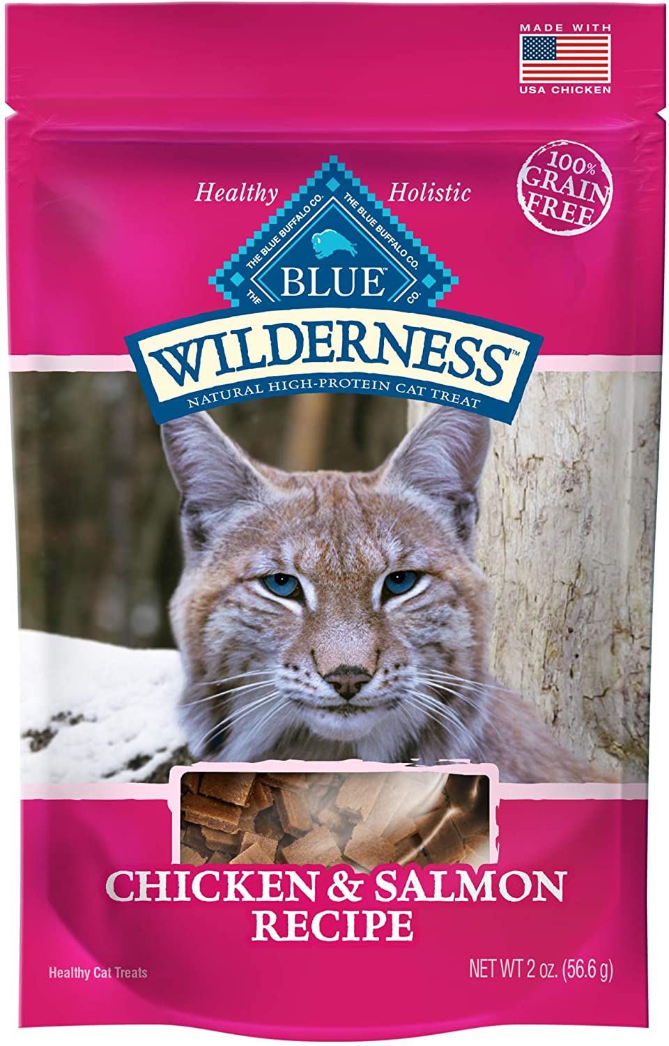 Primary image for Blue Buffalo Wilderness Chicken and Turkey Grain Free Cat Treats