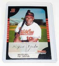 Mlb Miguel Tejada Baltimore Orioles 2005 Bowman Chrome Baseball #3 Mint - $1.26