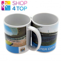 MANCHESTER CITY CERAMIC MUG CUP COFFEE TEA OFFICIAL FOOTBALL SOCCER CLUB... - $13.36