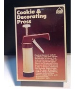 Hoan Vintage Cookie Decorating Press New In Box - $24.75