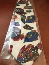 Brand new novelty Tropical Fish necktie image 3