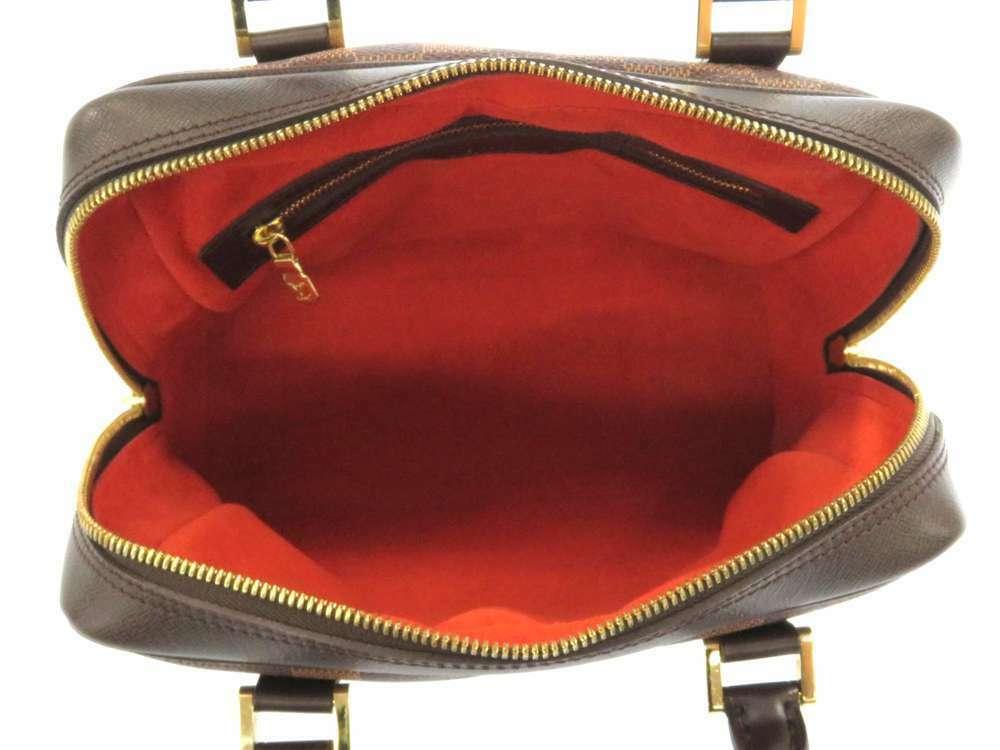 LOUIS VUITTON Brera Damier Canvas Ebene Handbag N51150 France Authentic image 6