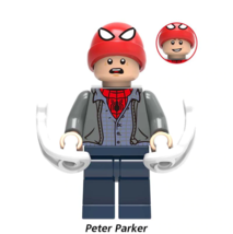 New Peter Parker Marvel Spider-Man Far From Home Lego Minifigures Toy Gift - $1.99