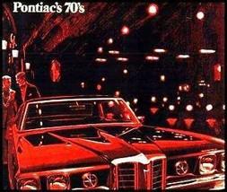 1970 Pontiac Deluxe Brochure- GTO Judge LeMans Tempest Grand Prix, Origi... - $11.39