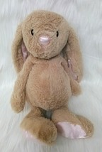 "13"" Animal Adventure Tan Pink Bunny Rabbit Easter Floppy Lovey Plush Sat... - $14.99"